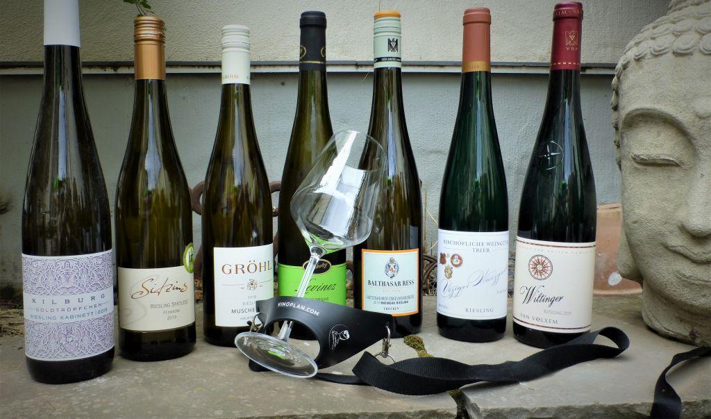 Einige der Weine, die möglicherweise während dieser Wanderung verköstigt werden.