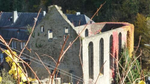 Kloster Marienthal, Kirchenschiff, Ruine