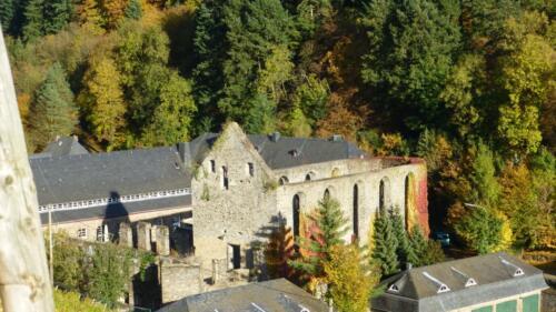 Kloster Marienthal von oben